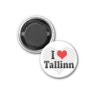 I Love Tallinn, Estonia Magnet