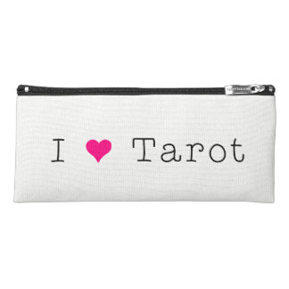 I Love Tarot Canvas Pencil Case