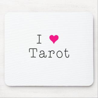 I Love Tarot Mouse Pad