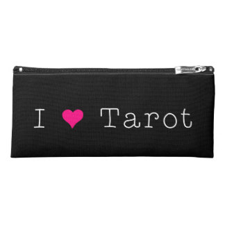 I Love Tarot Pencil Case Dark