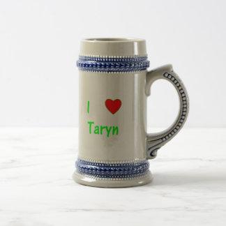 I Love Taryn Coffee Mugs
