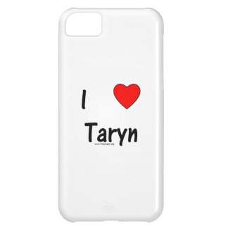 I Love Taryn Cover For iPhone 5C