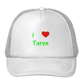 I Love Taryn Mesh Hat