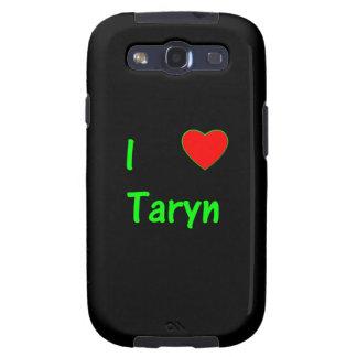 I Love Taryn Samsung Galaxy S3 Covers