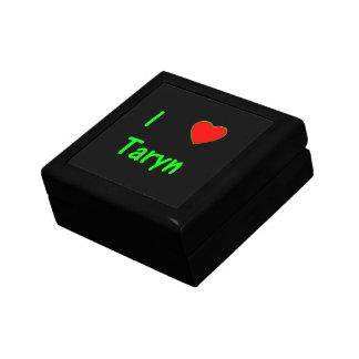 I Love Taryn Trinket Box