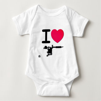 I LOVE TATTOOS COOL DESIGN FOR ANY TATTOO LOVER BABY BODYSUIT