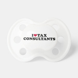I love tax consultants baby pacifiers