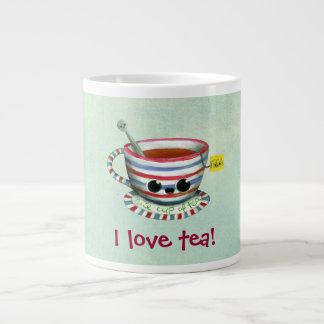 I love Tea Giant Coffee Mug