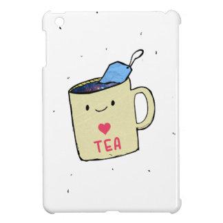 """""""I love Tea"""" Shirt and Apparel Case For The iPad Mini"""