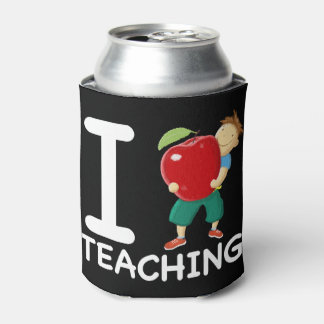 I Love Teaching Can Cooler