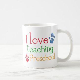 I Love Teaching Preschool Coffee Mug