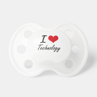 I love Technology Pacifier