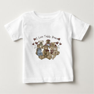 I  Love Teddy Bears Heartsakes Baby T-Shirt