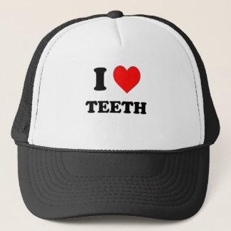 I Love Teeth Trucker Hat