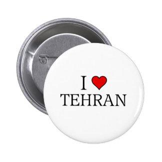 I love Tehran 2 Inch Round Button