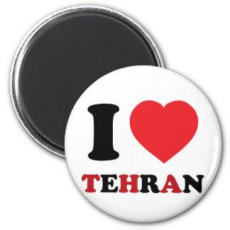 I Love Tehran Magnet