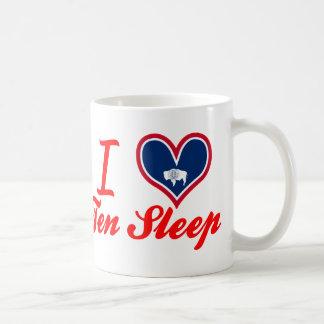 I Love Ten Sleep, Wyoming Coffee Mug