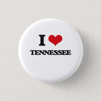 I love Tennessee 1 Inch Round Button