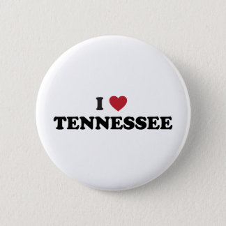 I Love Tennessee 2 Inch Round Button