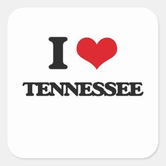 I love Tennessee Square Sticker