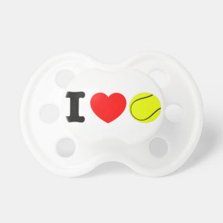 I Love Tennis Pacifier