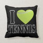 I Love Tennis Pillow