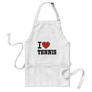 I LOVE TENNIS STANDARD APRON