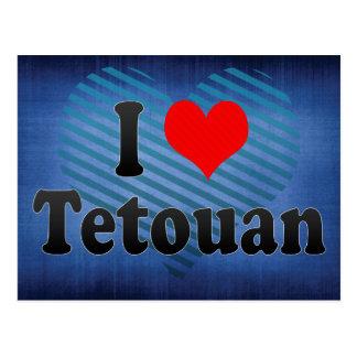 I Love Tetouan, Morocco Postcard