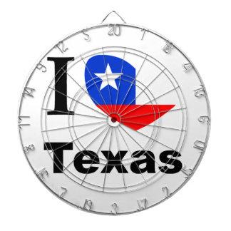 I Love Texas Dartboard