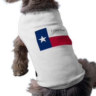 I Love Texas (Dog T-Shirt) Shirt