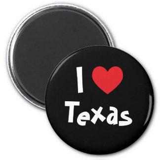 I Love Texas Magnet
