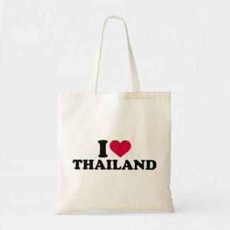 I love Thailand Budget Tote Bag