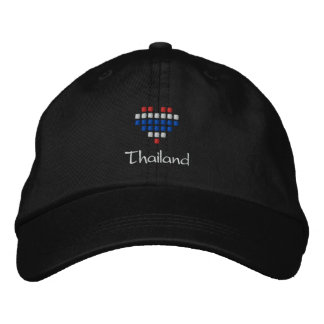 I Love Thailand Cap - Thai Flag Hat