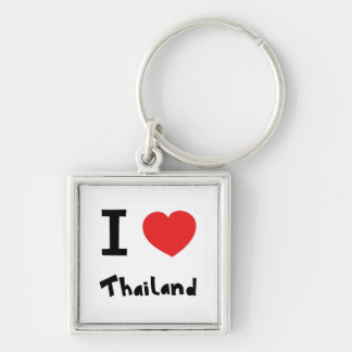 I love Thailand Keychain