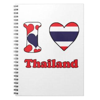 I love Thailand Notebooks