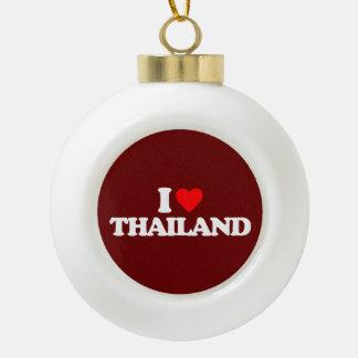 I LOVE THAILAND ORNAMENT