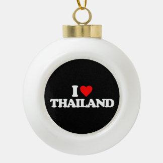 I LOVE THAILAND ORNAMENTS