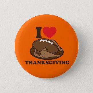 I love Thanksgiving 2 Inch Round Button