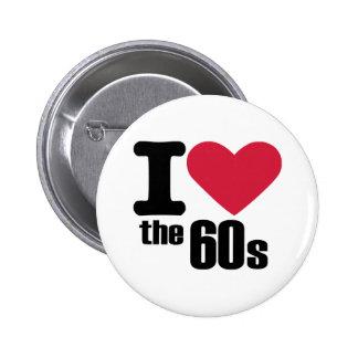 I love the 60's 2 inch round button