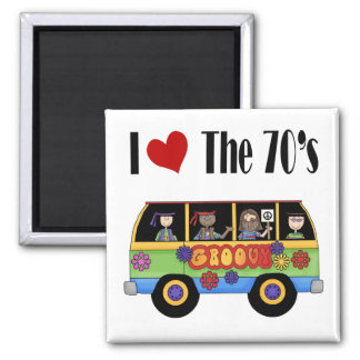 I love the 70's magnet