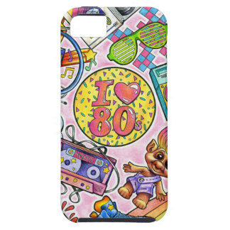 I love the 80s - 1980s Swag iPhone 5 Cases