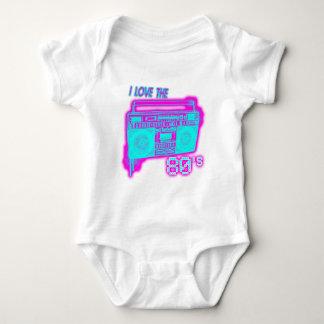 I LOVE THE 80s Baby Bodysuit
