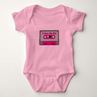 I Love The 80s (cassette) Baby Bodysuit