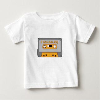 I Love The 80s (cassette) Baby T-Shirt