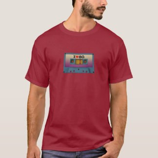 'I Love The '80s' Cassette Tape T-Shirts