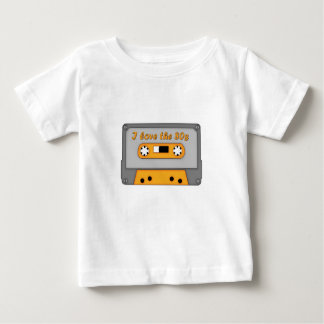 I Love The 80s (cassette) T-shirts