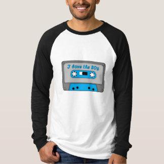 I Love The 80s (cassette) Tshirt