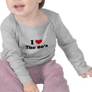 I love the 80's tees
