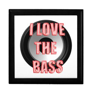I Love The Bass Jewelry Box
