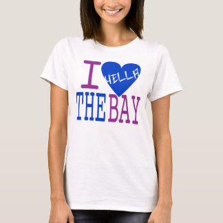 I Love The Bay (Fresh Blue) T-Shirt